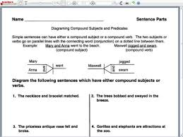 diagramming compound sentences worksheet free worksheets library