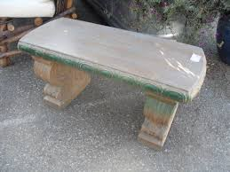 exterior concrete bench diy u2014 optimizing home decor ideas