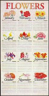 Birth Flowers By Month - birth flowers for each month