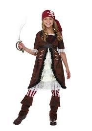 girls halloween pirate costume u0027s brown coat pirate costume