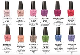 opi new orleans spring nail colors the daily details