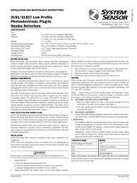 download system sensor b112lp installation manual docshare tips
