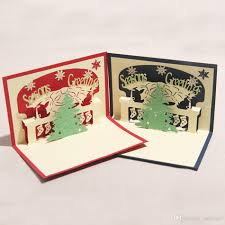 handmade 3d christmas cards christmas lights decoration