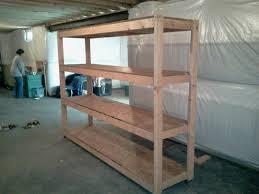 exceptional basement shelving plans 2 basement 2x4 storage