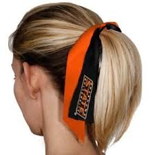 ribbon ponytail oklahoma state cowboys ribbon ponytail holder beauty