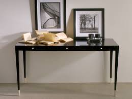 Modern Italian Office Furniture by Nella Vetrina Victor Modern Italian Designer Ebony Makassar Wood Desk