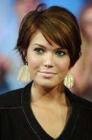 short hair with side swept bangs hairstyle picture magz