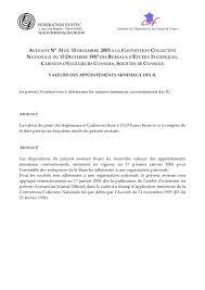 convention collective bureau d ude technique syntec minima conventionnels archives page 2 sur 2 syntec ingénierie