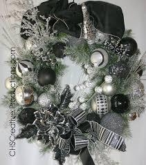 black christmas wreath black for christmas pinterest wreaths
