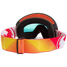 dragon motocross goggles dragon mx new nfx fade orange red ionized dirt bike tinted