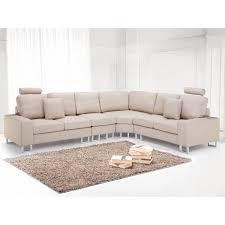 canapé d angle canapé en tissu beige sofa stockholm achat