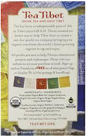 All 50 Flags Amazon Com Tea Tibet Tea Harmony Spiced 16 Count 1 1 Oz