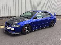 used mitsubishi lancer saloon 2 0 evo ix mr fq 340 4dr in