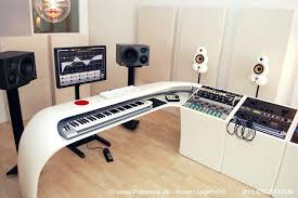 impressive music studio desk music corner production desk