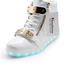 led light up shoes venshine led light up shoes 11 colors high top flashing sneakers for