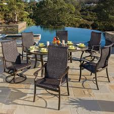 Wicker High Back Dining Chair Patio Awesome Woven Patio Furniture Woven Patio Furniture Used