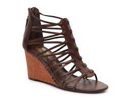 lauren ralph lauren alexandrea wedge sandal women u0027s shoes dsw
