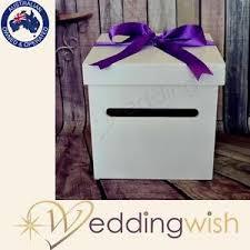 wedding wishing box white wedding wishing well wooden timber box engagement 21st