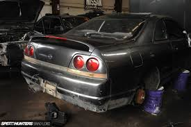 nissan skyline salvage yard project bb the search for a donor speedhunters