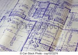 floor plan blueprint house floor plan blueprint detail of 40 years house stock