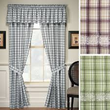 what is a window treatment dover plaid window treatments
