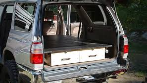 how to build a pickup truck sleeping platform the prepper journal