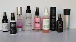 makeup setting spray with bare minerals