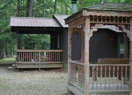 cabin porch douglas fir cabin