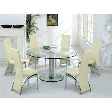 Glass Dining Table For 6 Dining Table 6 Chairs Extending Dining Table And 6