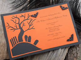 halloween bday party homemade halloween party invitation ideas fun for halloween 925