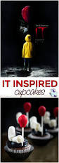 creepy clown cupcakes inspired by the it movie halloween