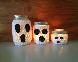 halloween baby food jar crafts mason jar halloween diy projects popsugar home