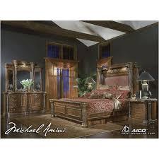 Torino Bedroom Furniture 56014t 25 Aico Furniture Torino Bedroom King Bed Espresso