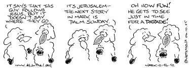 agnusday org the lectionary comic