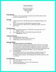 cnc operator resume sample phd resume samples sample academic