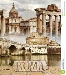 ancient rome stock illustration image 49941721
