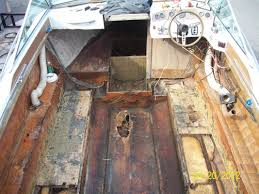 replacing stringers floor maybe transom boat design