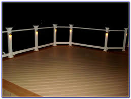 Led Solar Deck Lights - solar led deck lighting decks home decorating ideas lo28eerwbk