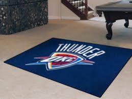 Area Rugs Oklahoma City Oklahoma City Thunder Doormats Nba Welcome Mats Sports Team