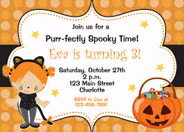 printable halloween birthday party invitations u2013 festival collections