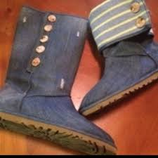 ugg denim sale ugg uggs denim canvas size 7 on hold from socorro s closet on