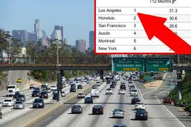 Traffic Map Los Angeles by The Absolute Worst Times To Drive On Every Freeway In La Curbed La