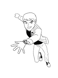 free ben 10 coloring pages printable kidsfree coloring pages