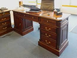 B Otisch Mit Schubladen Schreibtisch Büroschreibtisch Büromöbel Im Antiken Stil Massivholz