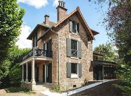 French Cottage Homes by Traditional French Cottage A Stone U0027s Throw Away From Paris