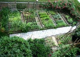 Kitchen Garden Designs Veg Garden Image For Vegetable Garden With A Green Picket