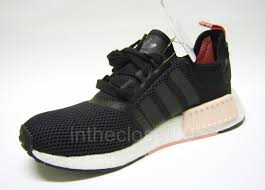 Adidas Nmd Runner Womens by Adidas Runner Salmon Unisex Shoes Adidas Nmd Runner Boost Black