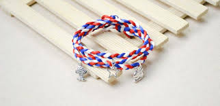 braided charm bracelet images How to make a wrapped braid bracelet with charms jpg