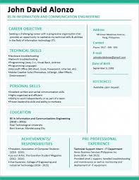 free simple resume template resume template and professional resume