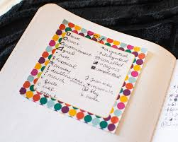 how to use a bullet journal to stay organized u2014 plant based bride